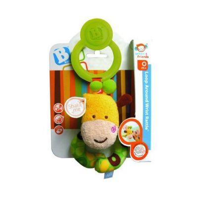 BKids Loop Around Wrist Rattle Baby Toy
