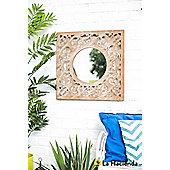 Square Decorative Wall Mirror