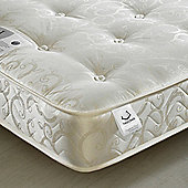 Happy Beds Gold Tufted Orthopaedic Open Coil Sprung Mattress