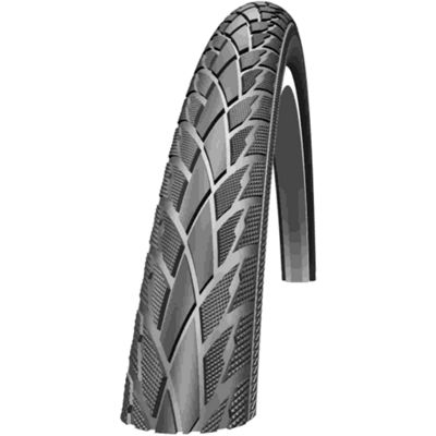 Schwalbe Road Cruiser Tyre: 700c x 40mm Black Wired. HS 377, 42-622, Active Line, Kevlar Guard