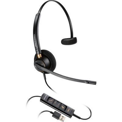 Plantronics EncorePro HW545 Monaural Head-band Black headset