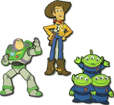 Toy Story Foam Wall Decorations