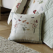 Dreams n Drapes Country Journal Cushion Cover - 43x43cm