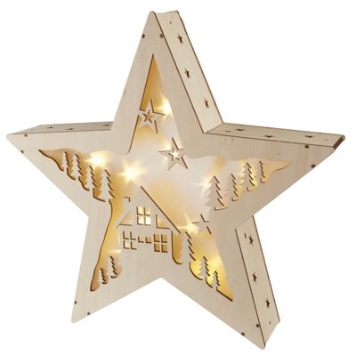 Light Up Christmas Star