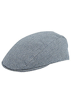F&F Herringbone Flat Cap - Grey