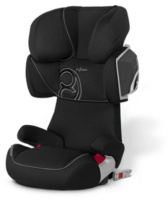 Mamas & Papas - Cybex Solution X2 Fix Car Seat - Pure Black