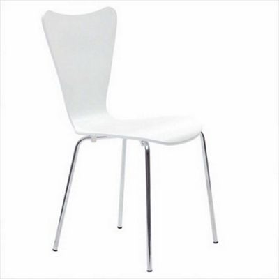 Set of 4 Enzo Dining Chair-White