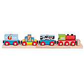 Bigjigs Rail Goods Train