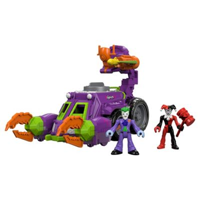 Fisher Price Imaginext The Joker & Harley Quinn Battle Vehicle