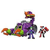 Fisher Price Imaginext The Joker & Harley Quinn Battle Vehicle