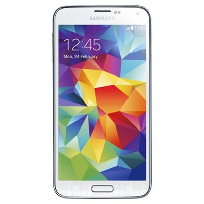 Samsung Galaxy S5 Shimmery White