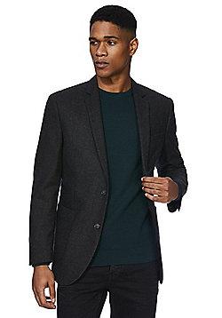 F&F Regular Fit Suit Jacket - Charcoal grey