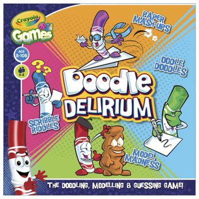 Crayola Games Doodle Delirium Game