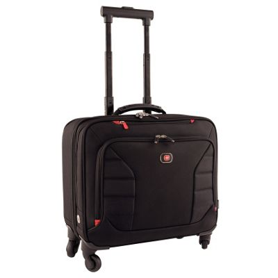 Wenger Interchange 17 Wheeled Laptop Case & Overnight Pocket