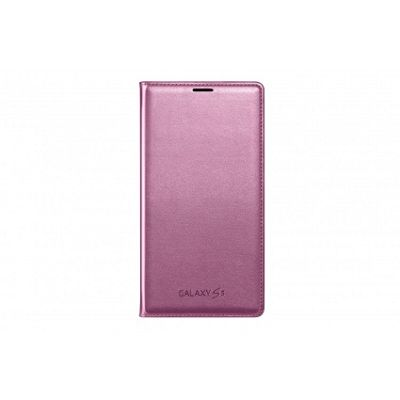 Samsung Original Flip Wallet for Galaxy S5 - Glam Pink
