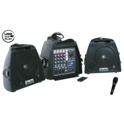 Maplin Djtech Stage Visa 200 Compact 140W Portable Pa System