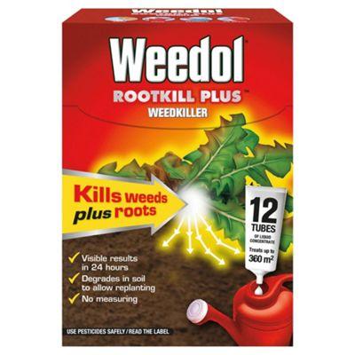 Weedol Rootkill Plus Tubes 12 Pk