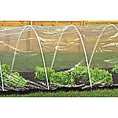 Harbour Housewares Clear PE Vegetable / Fruit Polytunnel / Grow Tunnel