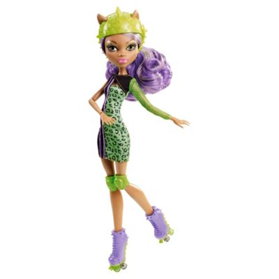 Monster High Skultimate Roller Maze with Clawdeen Wolf Doll