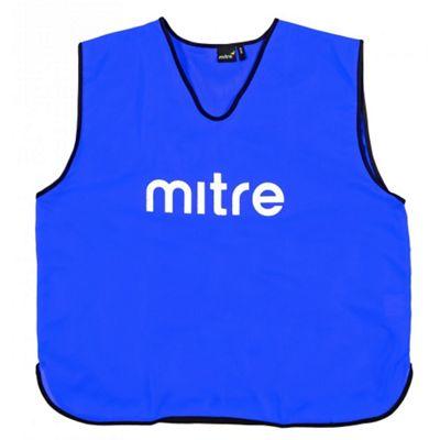 Mitre Pro Football Training Bib - Junior - Blue