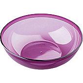 Aubergine Purple Plastic Salad Bowl - 3.5L