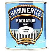 Hammerite High Gloss White Radiator Paint, 500ml