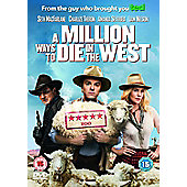 A Million Ways To Die In The West DVD