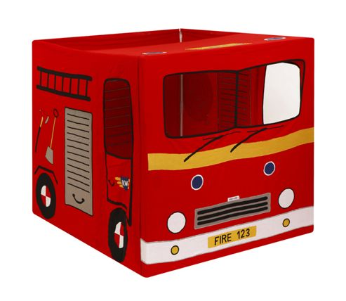 Kiddiewinkles Fire Engine Playhouse Tent