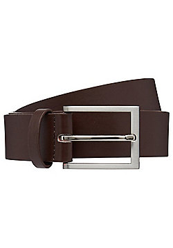 F&F Faux Leather Formal Belt - Brown