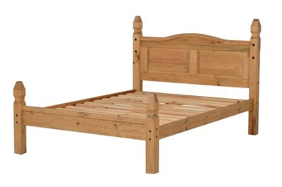 Home Essence Corona Low Foot End Bed Frame - Double (4' 6