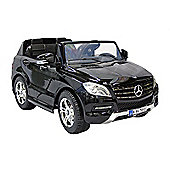 Kids Electric Car Mercedes Benz M Class Twin Seat 12 Volt Black Gloss