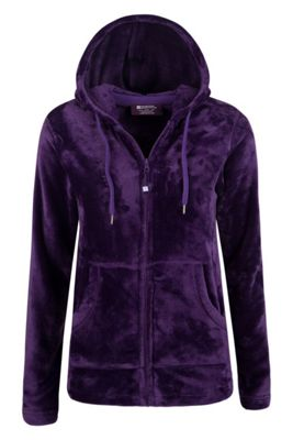 Mountain Warehouse Snaggle Womens Hooded Fleece ( Size: 12 )