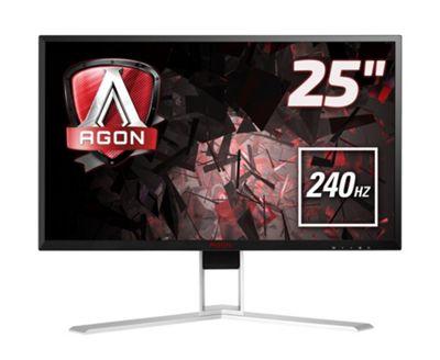 AOC AG251FZ 24.5-Inch Widescreen TN LED Multimedia Monitor - Black