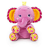 Bright Starts Snuggle-n-Shake Elephant Soft Toy