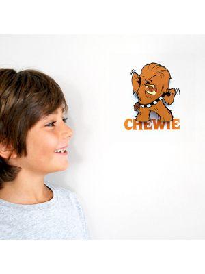 Star Wars Mini 3D LED Wall Light Chewbacca