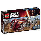 LEGO Star Wars Rey's Speeder 75099