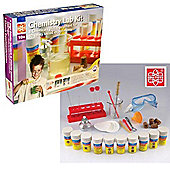 Edu Science Chemistry Lab Kit 80 Experiments