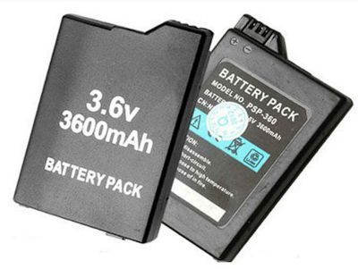 U-Bop PowerSURE Performance Battery for Internal Sony PSP Slim 2000 - (Extended Life 2400 mAh)