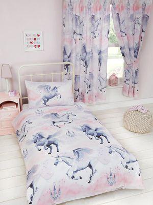 Stardust Unicorn Single Duvet Cover Set