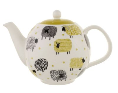 Ulster Weavers Dotty the Sheep Porcelain Teapot 6 Cup 8DTS66