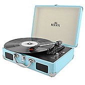 Revinyl Briefcase Bluetooth Vinyl Record Player - Blue