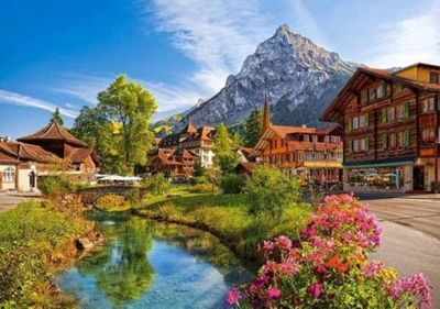 Kandersteg, Switzerland - 500pc Puzzle