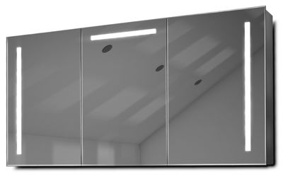 Cali LED Bathroom Cabinet with Demister Pad, Sensor & Shaver k378