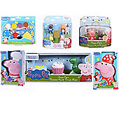 Peppa Pig Mega Gift Set - 6 Items Included