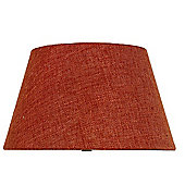 Terracotta Linen 12 Inch Empire Shade (Dual Fitting)