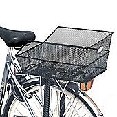 Basil Cento Rear Bag Basket Steel Mesh Fixed Mounting Black (Rear Rack Req)