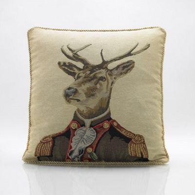 Alan Symonds Tapestry Captain Cushion Cover - 45x45cm