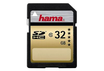 Hama 32GB Secure Digital High Capacity Card