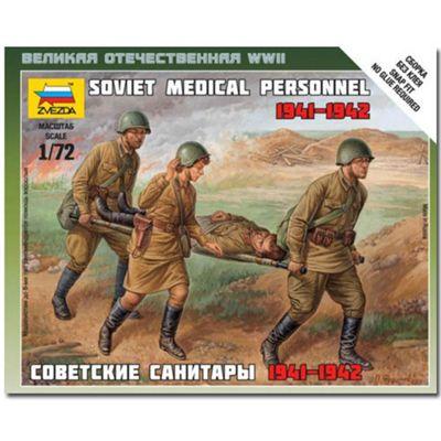 Zvezda V6152 Soviet Medical Personnel 1941 Model Kit 1:72