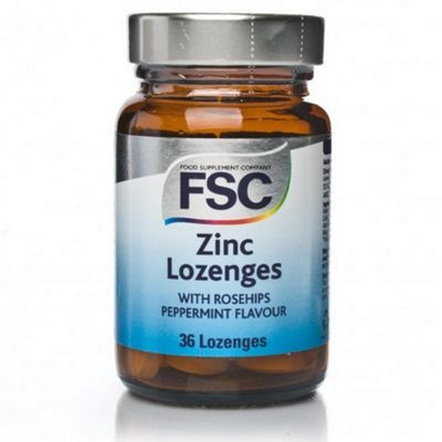 Fsc Zinc Lozenges With Rosehips 36 Lozenges